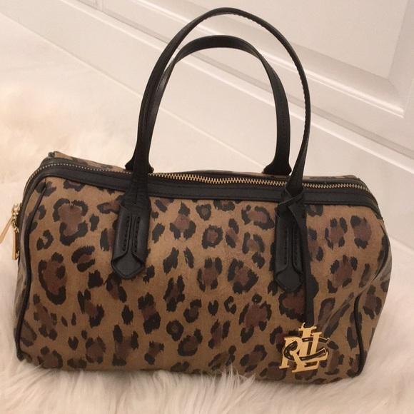 3f93b578e9b Lauren Ralph Lauren Bags   Ralph Lauren Leopard Purse   Poshmark